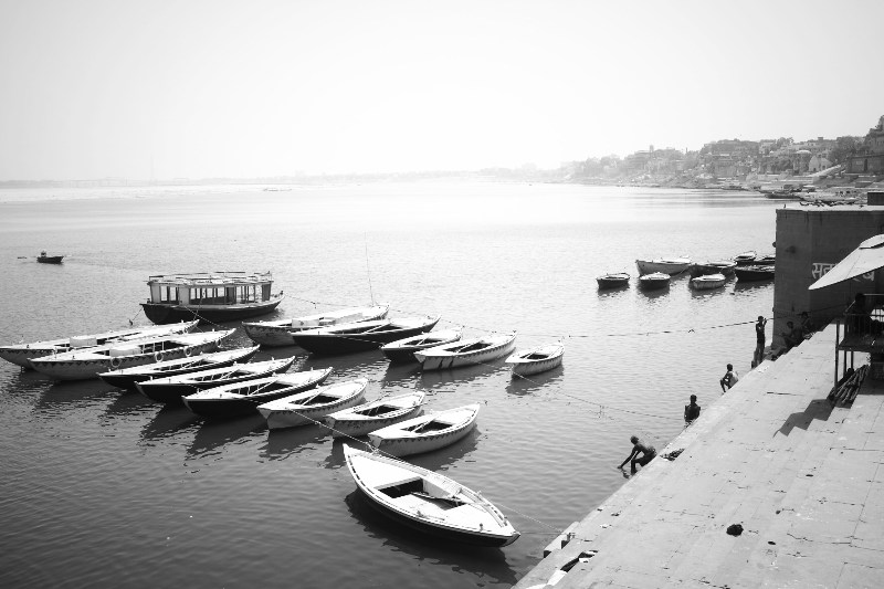 Varanasi and mother ganga